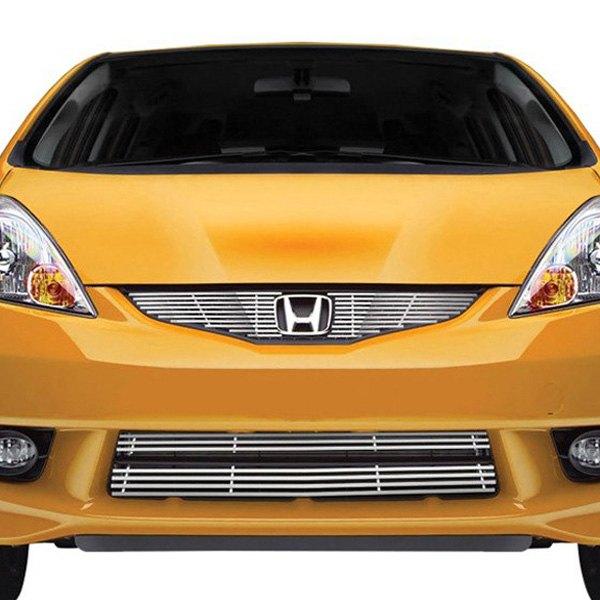 Honda Dealers In Ri: Honda Fit 2009 4-Pc Chrome Billet Grille