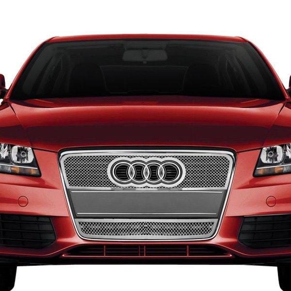 Audi A4 / A4 Quattro 2006 2-Pc Chrome Weave Mesh