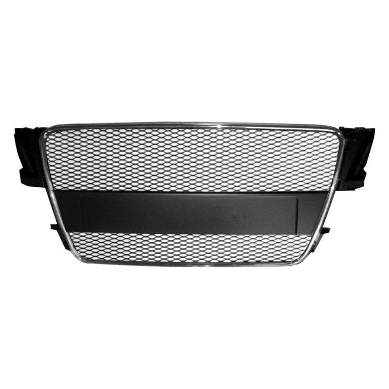 ri audi a5 2008 2012 1 pc black mesh grille. Black Bedroom Furniture Sets. Home Design Ideas