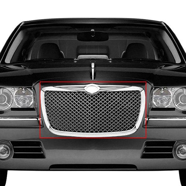 Chrysler 300C 2005 1-Pc Chrome Mesh Grille