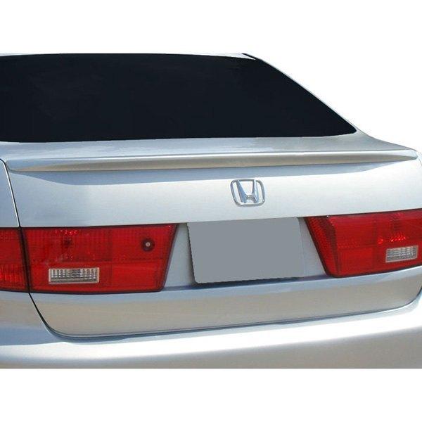 Honda Dealers In Ri: Honda Accord 2004 Factory Style Rear Lip Spoiler