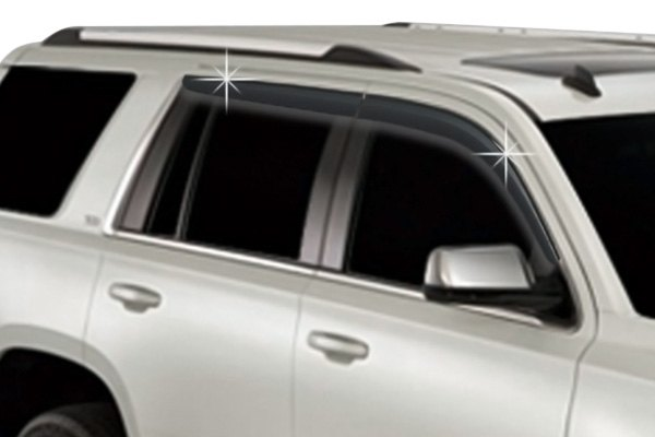RI® - Chevy Tahoe 2015 Tape-On Front and Rear Window Visors