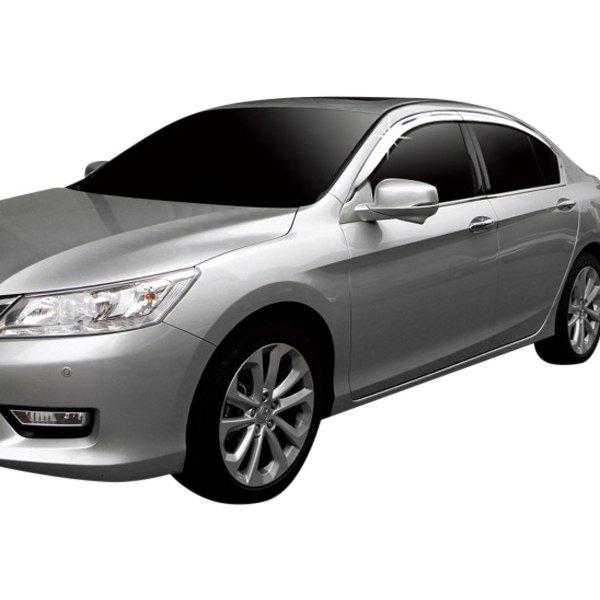 Honda Dealers In Ri: Honda Accord 2015 Tape-On Front And Rear Window Visors