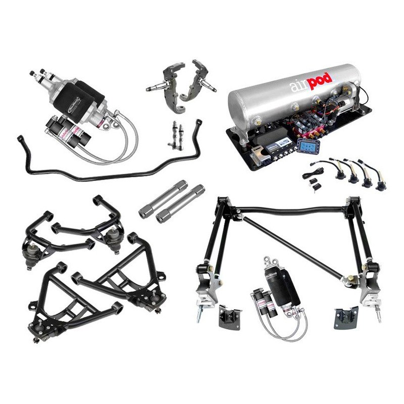 multilevel air suspension system by ridetech at carid