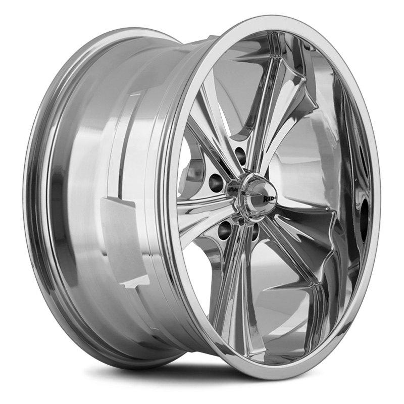 RIDLER® 651 Wheels - Chrome Rims