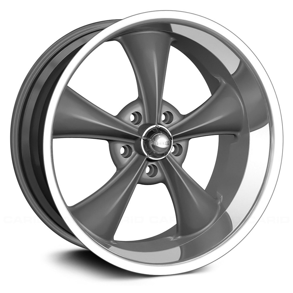 RIDLER® - 695 Gray with Machined Lip