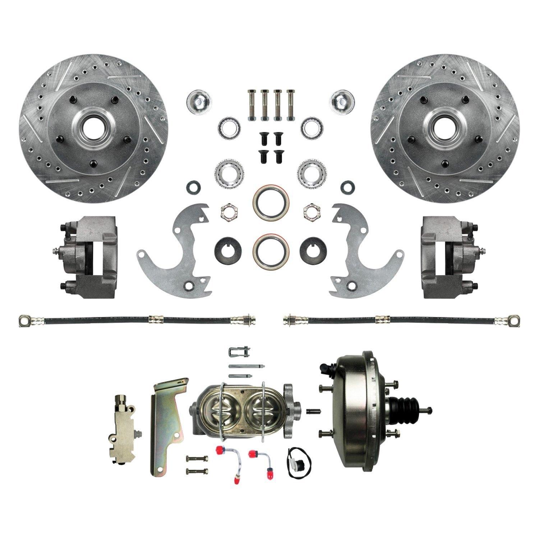 CHE082SD LaCrosse Regal Malibu Impala Performance Brake Rotors Double Drill