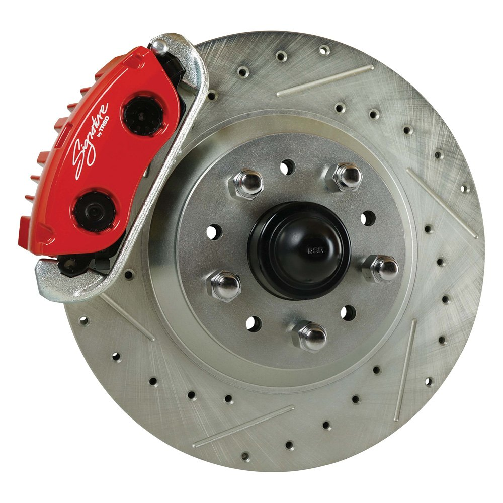 Front Drum Brakes : Right stuff detailing afxsd cz drum to disc drilled