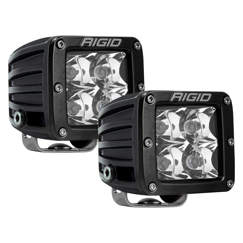 D-Series Pro, 3 Inch, Flood Beam, Pair, Unive Rigid Industries 202113 LED Light