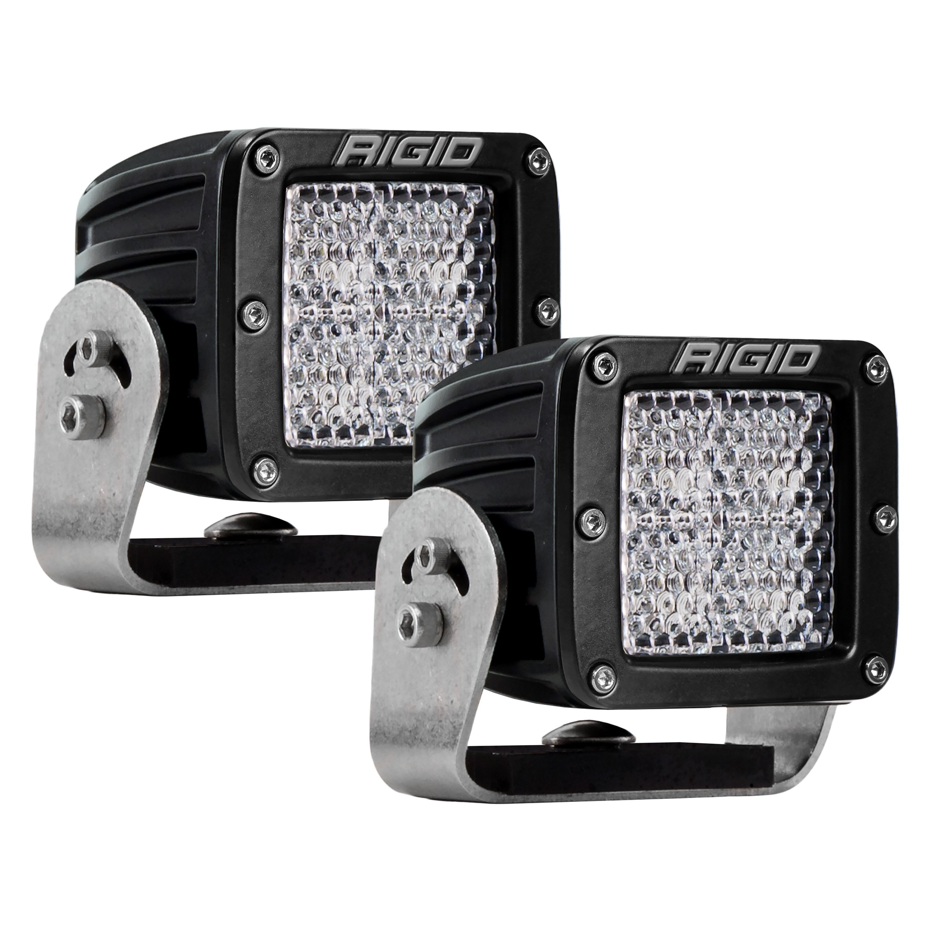 CLEAR PROTECTIVE COVER FOR RIGID INDUSTRIES LED D-SERIES RADIANCE PODS DUALLY