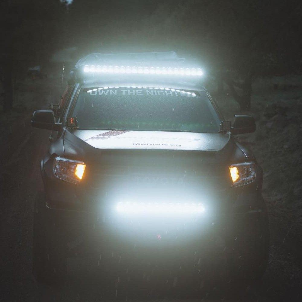 Rigid Industries® - Adapt™ SAE LED Light Bar with RGB-W Accent ...
