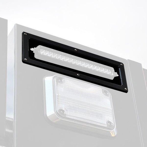 rigid industries 174 40013b flush for 6 quot sr series led light bar