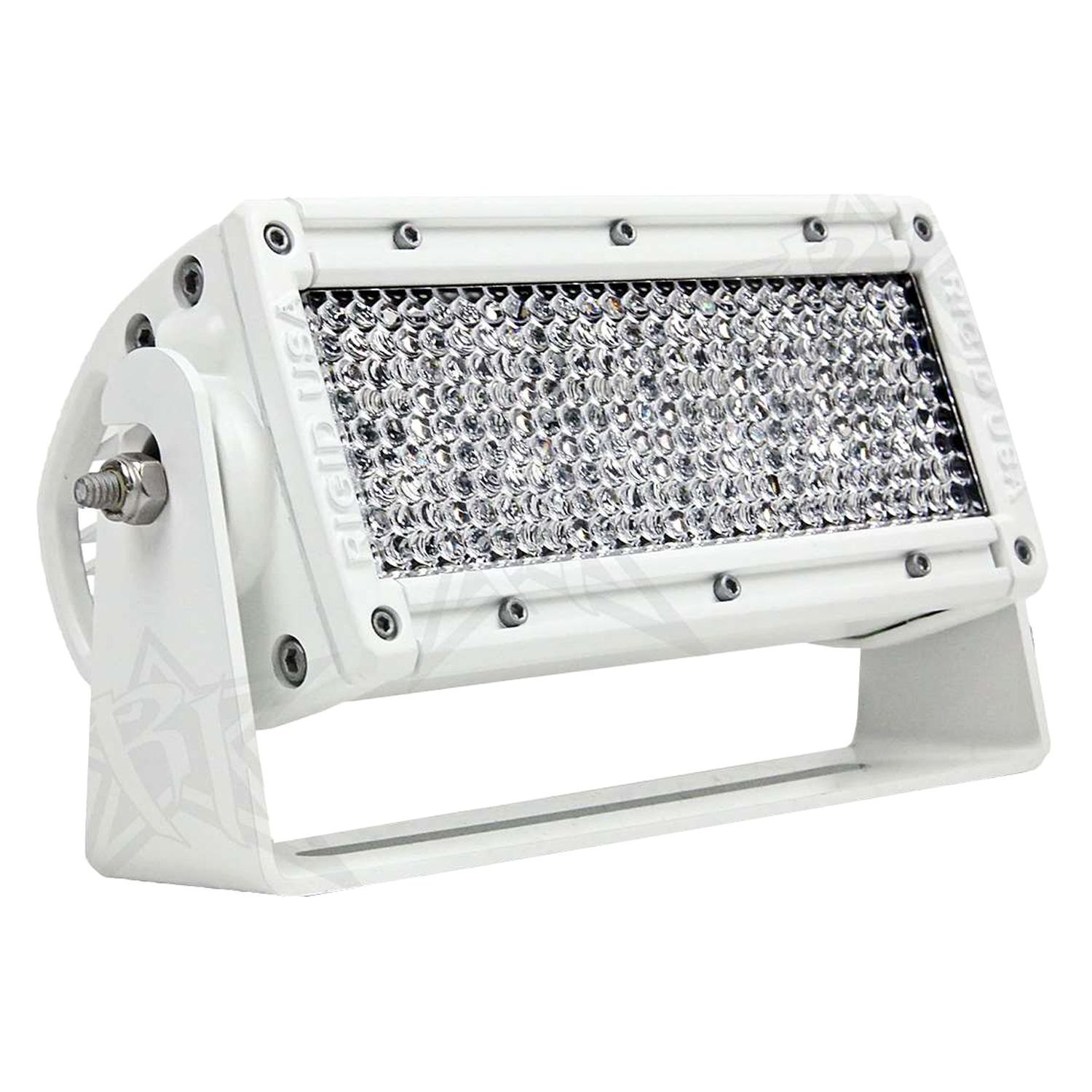 Rigid industries cradle mount for e series led light bar industries white powder coat cradle mount for 10 e series led light bar aloadofball Images