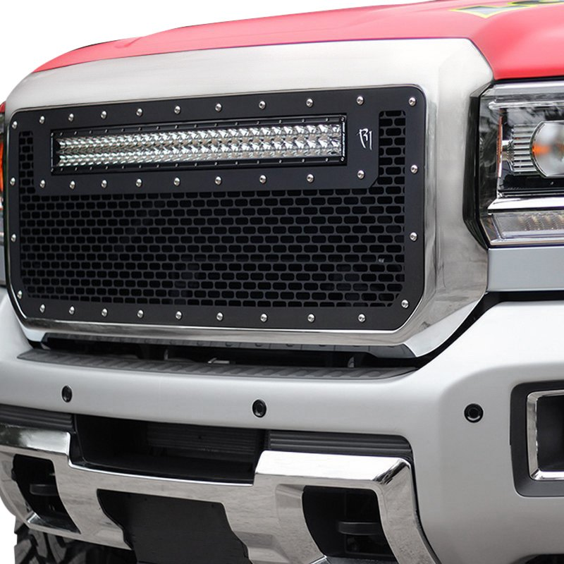 Rigid Industries® 41584 - Black CNC Machined Main Grille with 1 x 30 ...