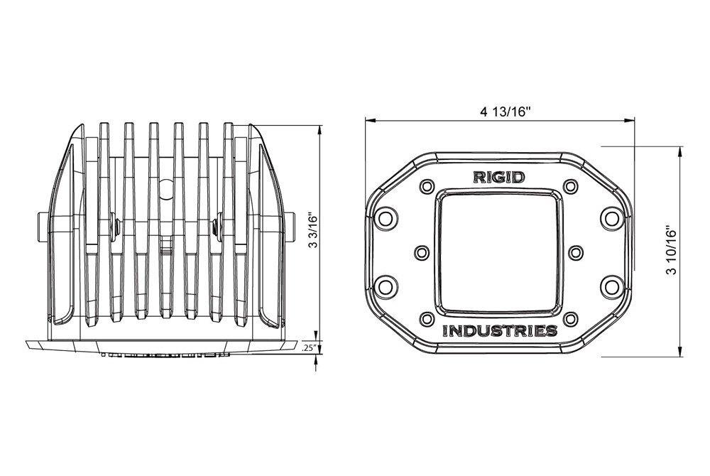 rigid industries u00ae 612513