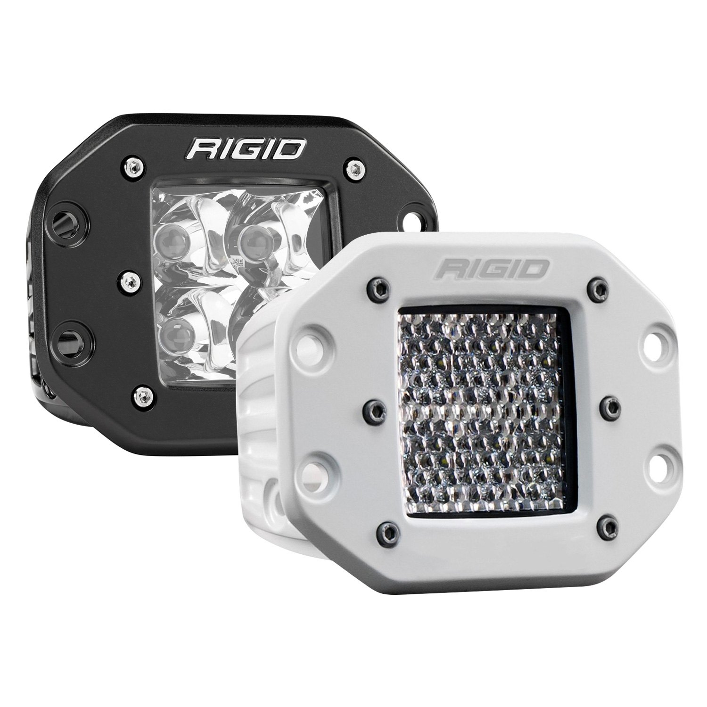 Rigid Industries DSeries Pro Flush Mount 3 LED Lights