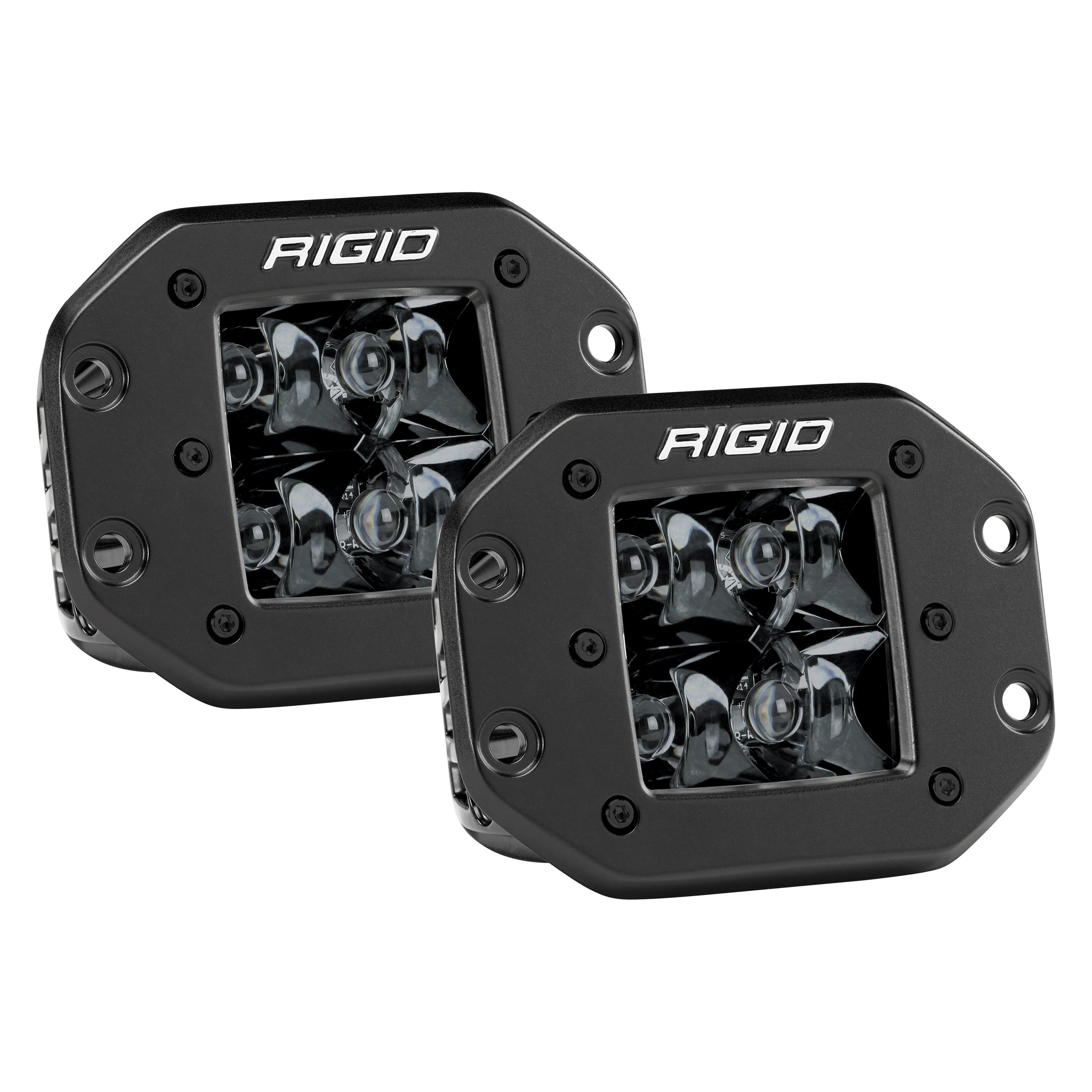 Rigid Industries DSeries Pro Midnight Edition Flush Mount 3 22W