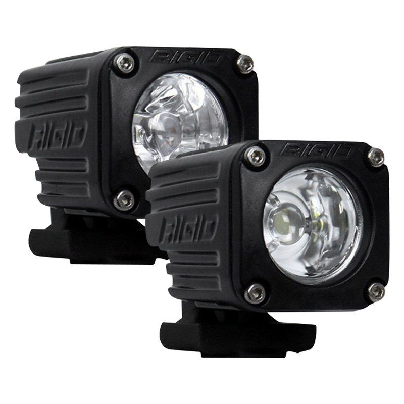 Led Lights For Motorcycle >> Rigid Industries Ignite Motorcycle 1 4 12w Led Lights