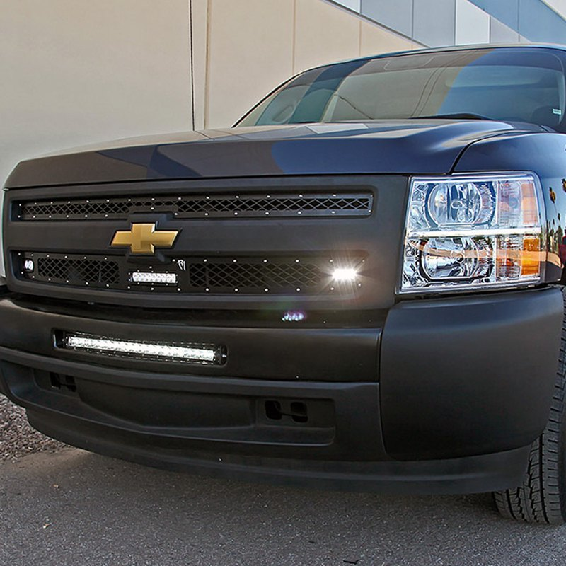 ... silverado fits following model s 1500 notes led light bar not included