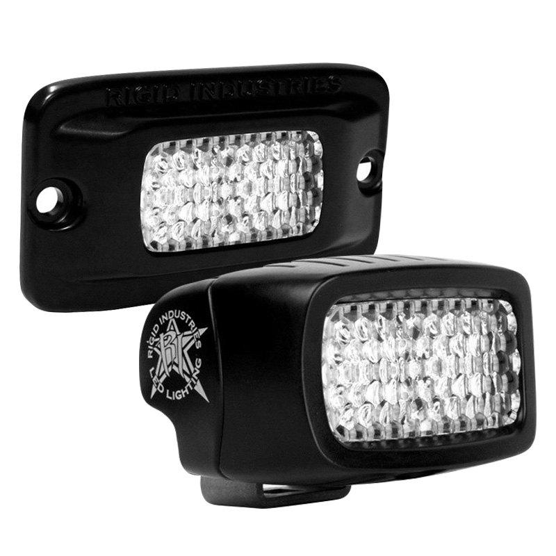 Rigid Industries Sr M Series Black Led Backup Light Kit