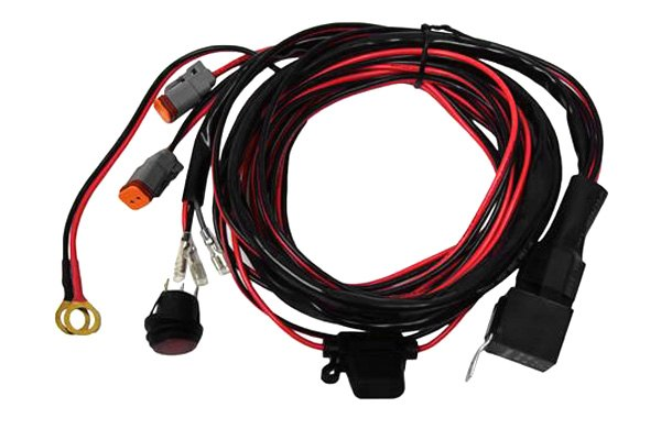 rigid industries 174 40196 wiring harness for pair d2 lights