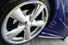 RimPro-Tec® — Yellow and Blue Wheel Bands