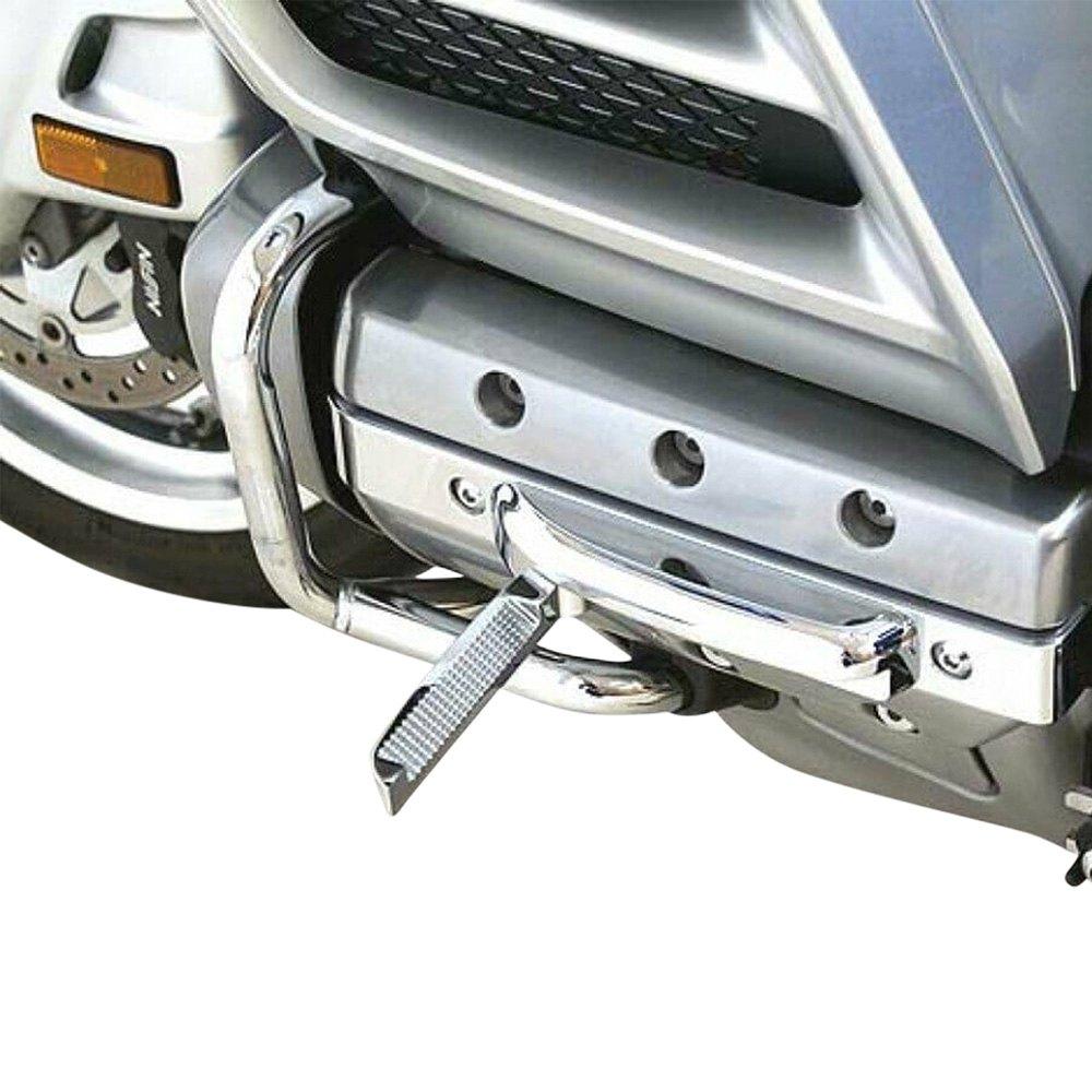 Toygogo 2er Spiegel Zierringe Dekor Abdeckung F/ür Honda Goldwing GL1800 GL 1800 2001