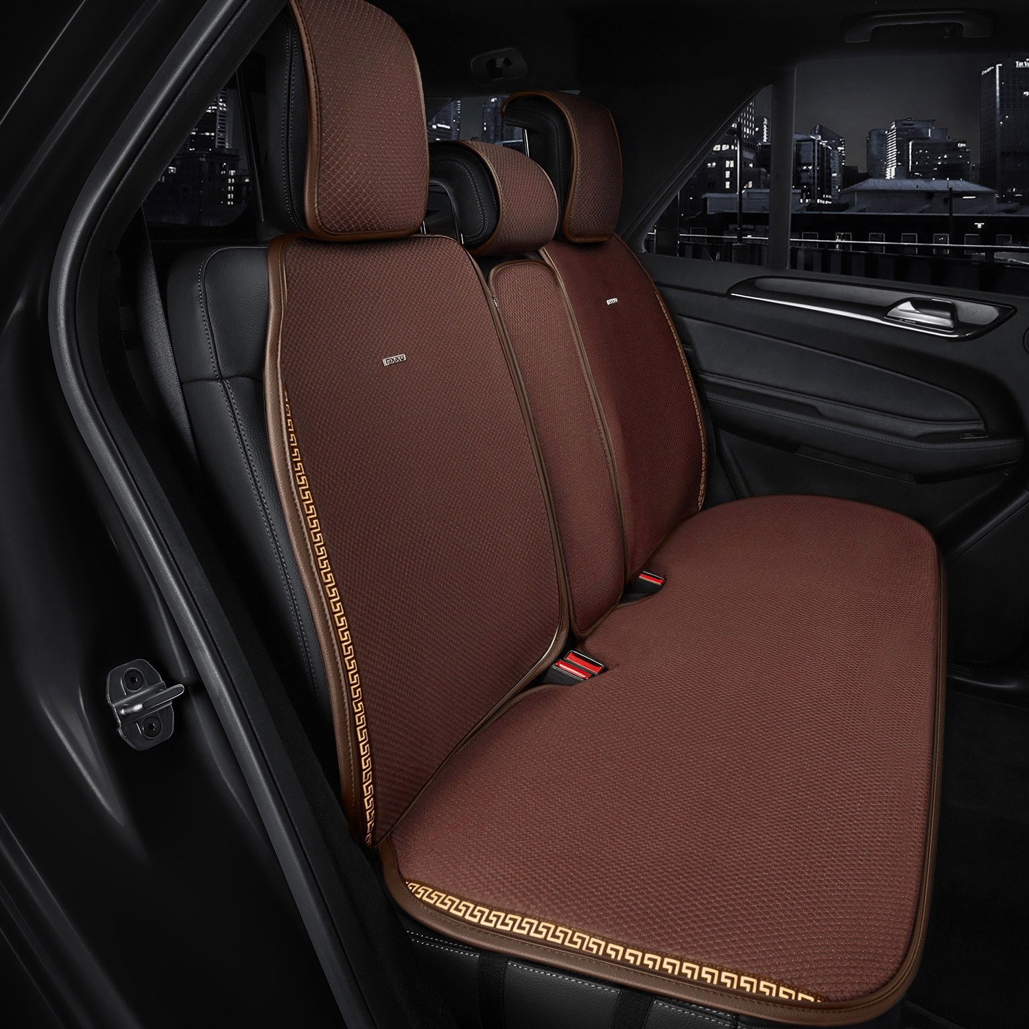 Rixxu Sc Db001 Pad 2nd Slimline Series 2nd Row Cocoa Seat Cover