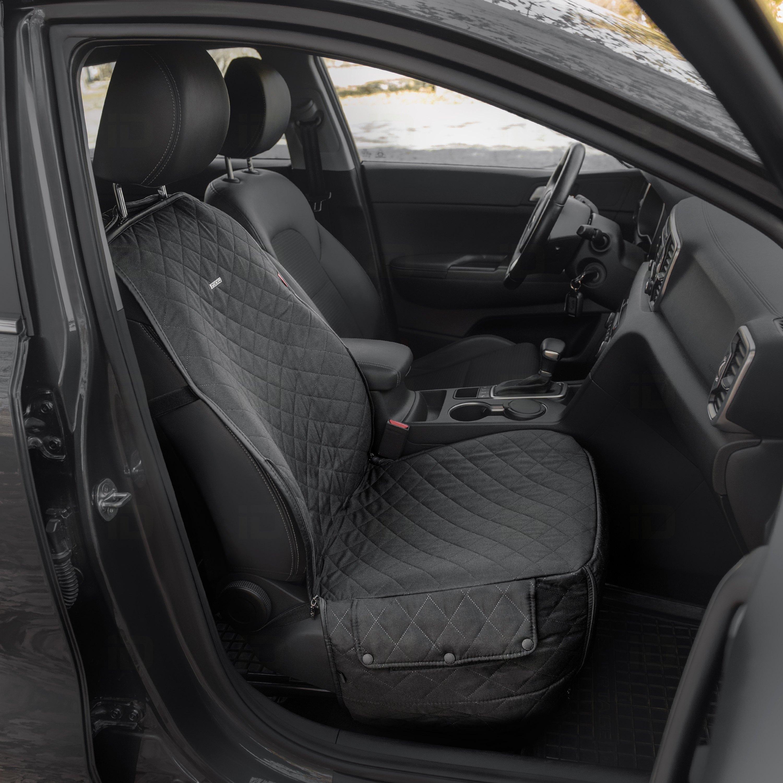 Rixxu 1st 2nd Row Pet Series Black Seat Covers