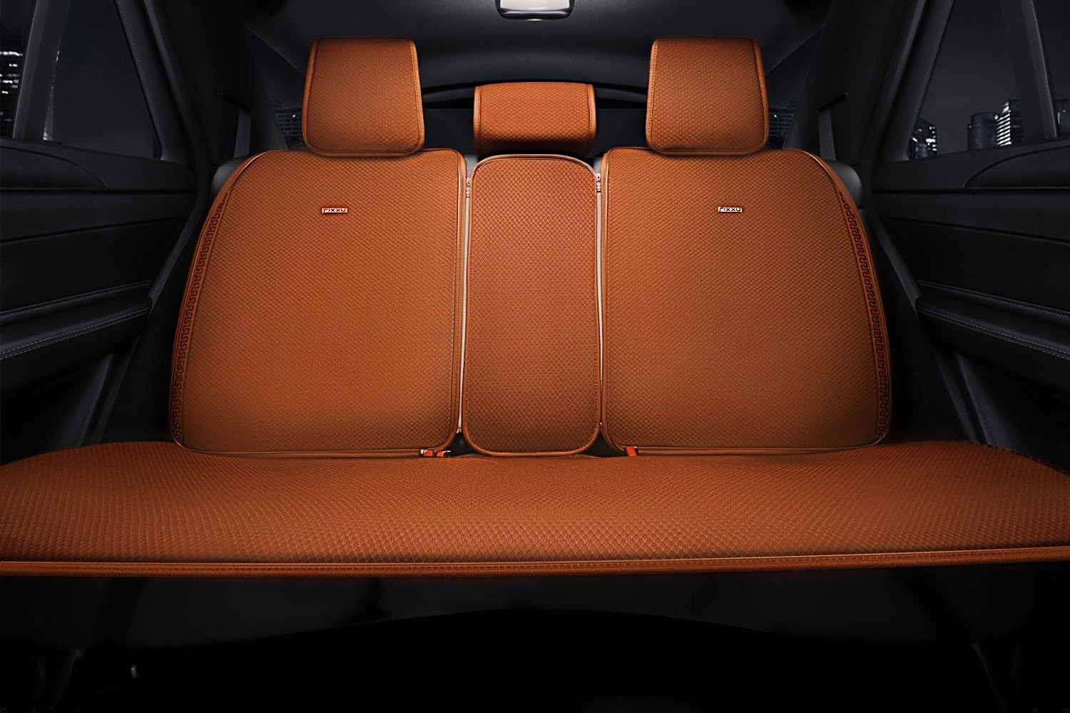 Rixxu Sc Tn001 Pad 2nd Slimline Series 2nd Row Camel Seat Cover