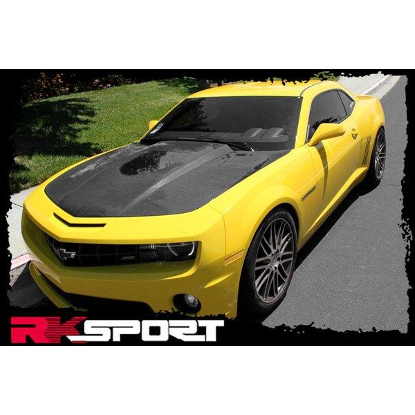 New RKSport Chevy Camaro Fiberglass Hood ONLY Fiberglass