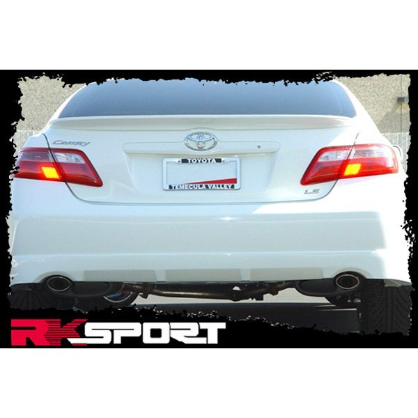 Rksport toyota camry 2007 front and rear valances for Garage toyota valence