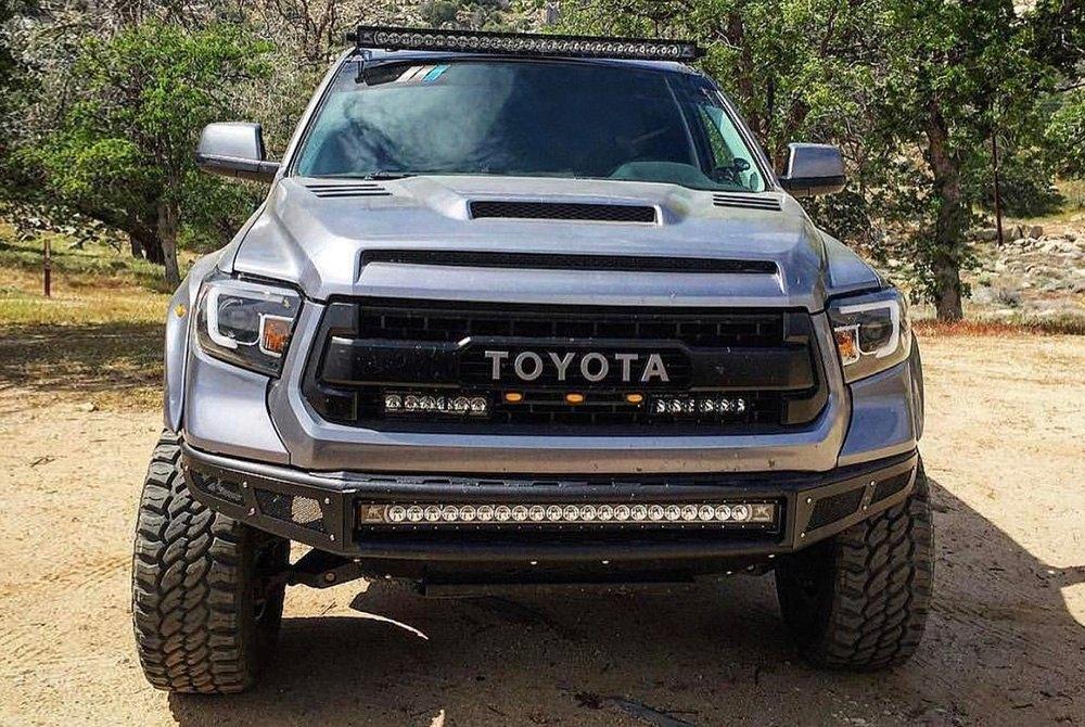 Gmc Sierra Ram Air Hood >> RKSport® - Toyota Tundra 2014 Ram-Air Fiberglass Hood