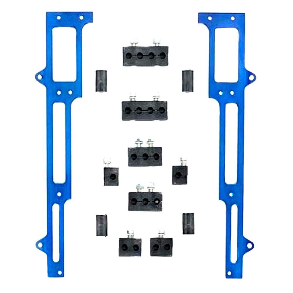 Rm Specialties 1101b Spark Plug Wire Loom Alongside Valve Cover Heat Resistant Wiring