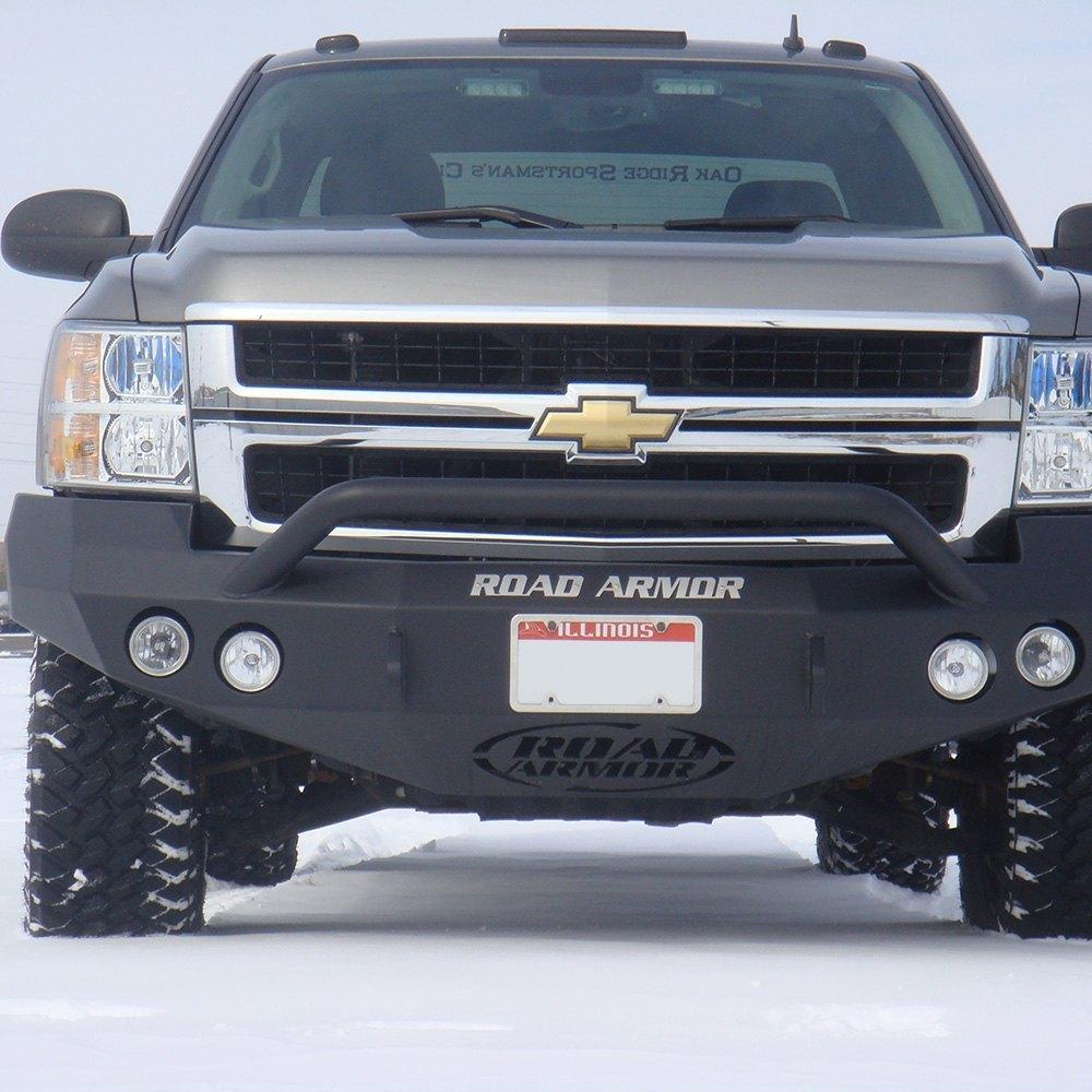Silverado 2008 chevy silverado front bumper : Road Armor® - Chevy Silverado 2008-2010 Stealth Series Full Width ...