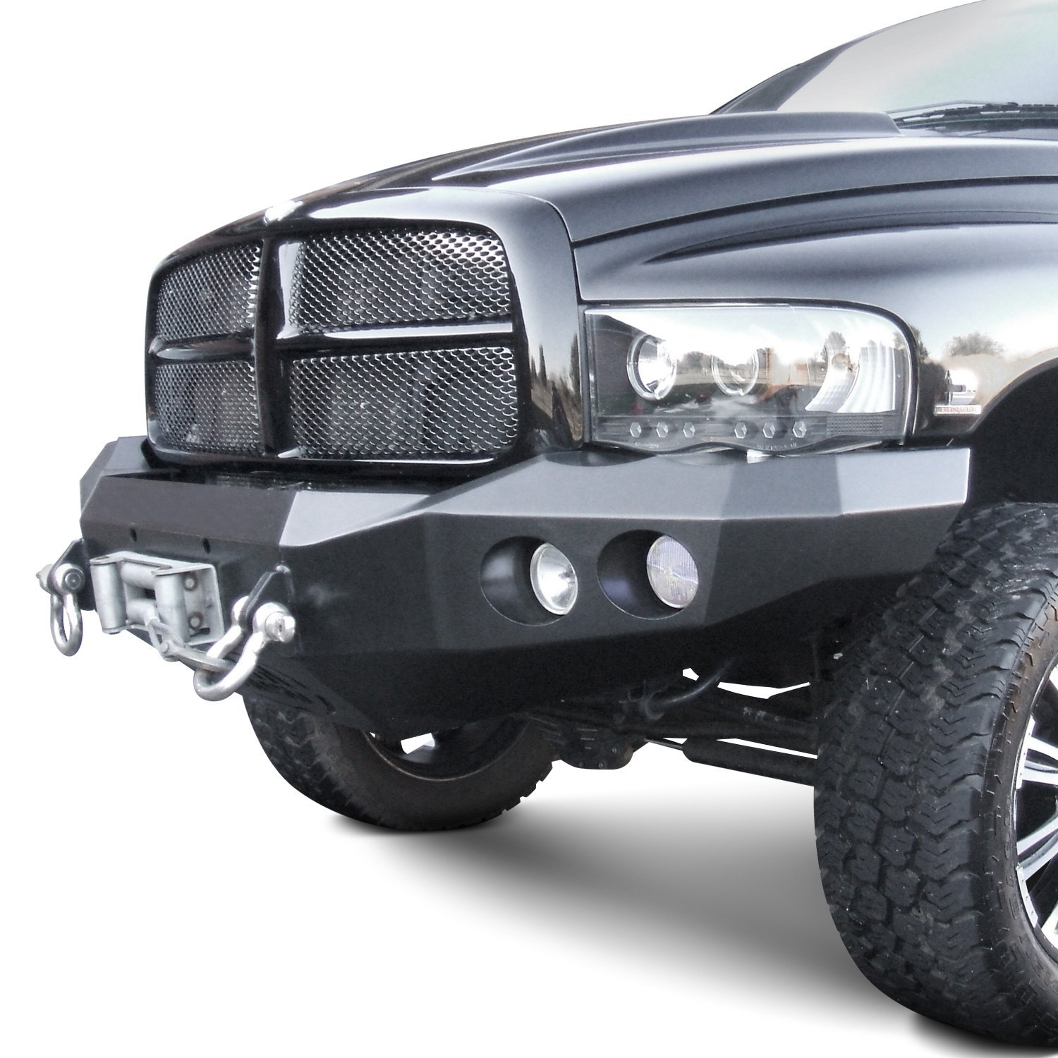 road armor dodge ram 1500 2002 stealth series full width front winch hd bumper. Black Bedroom Furniture Sets. Home Design Ideas