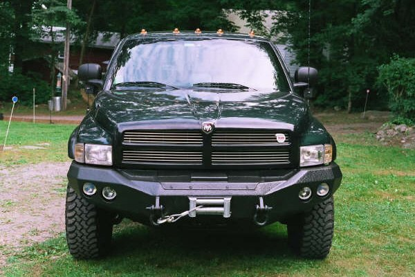 B on 1995 Dodge Ram 3500