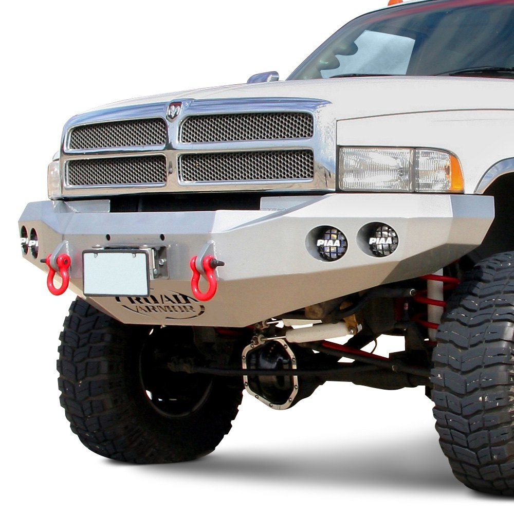 Road Armor® - Dodge Ram 1500 / 2500 / 3500 1995 Stealth Series Full Width Front Winch HD Bumper