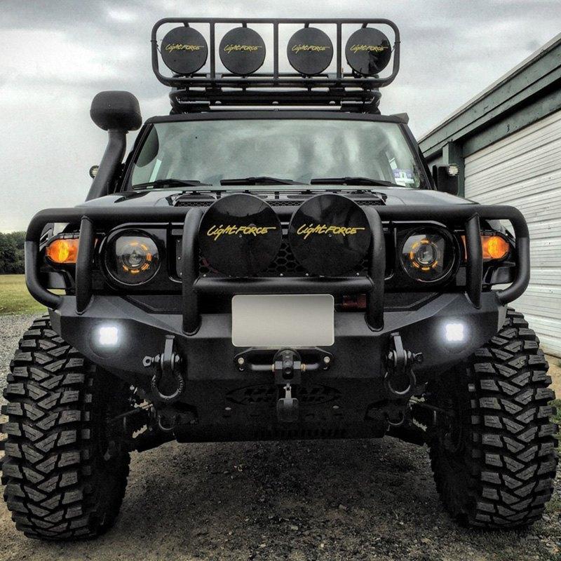 Fj Cruiser Off Road >> Road Armor Stealth Series Full Width Front Winch Hd Bumper With Titan Ii Guard