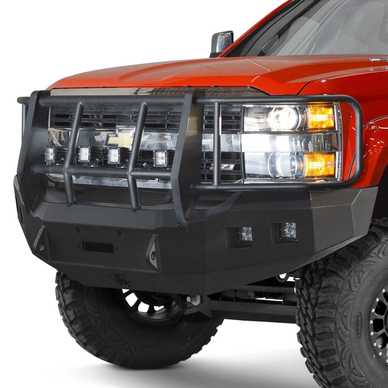 Heavy Duty Front Steel Bumper With Winch Mount Da5645 For: Road Armor 315R6B