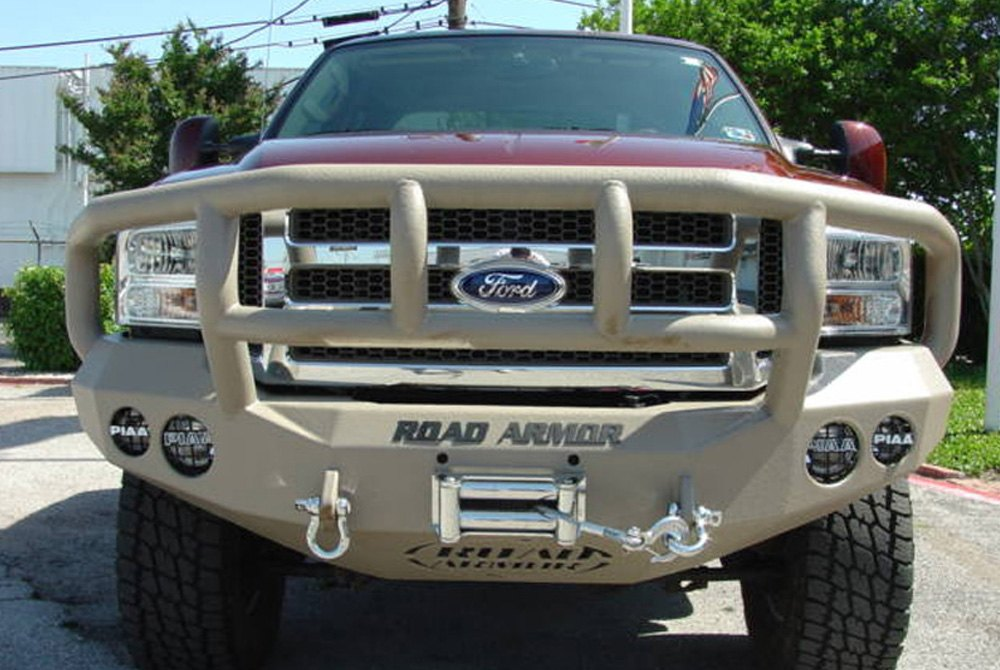 Road armor stealth bumper ford