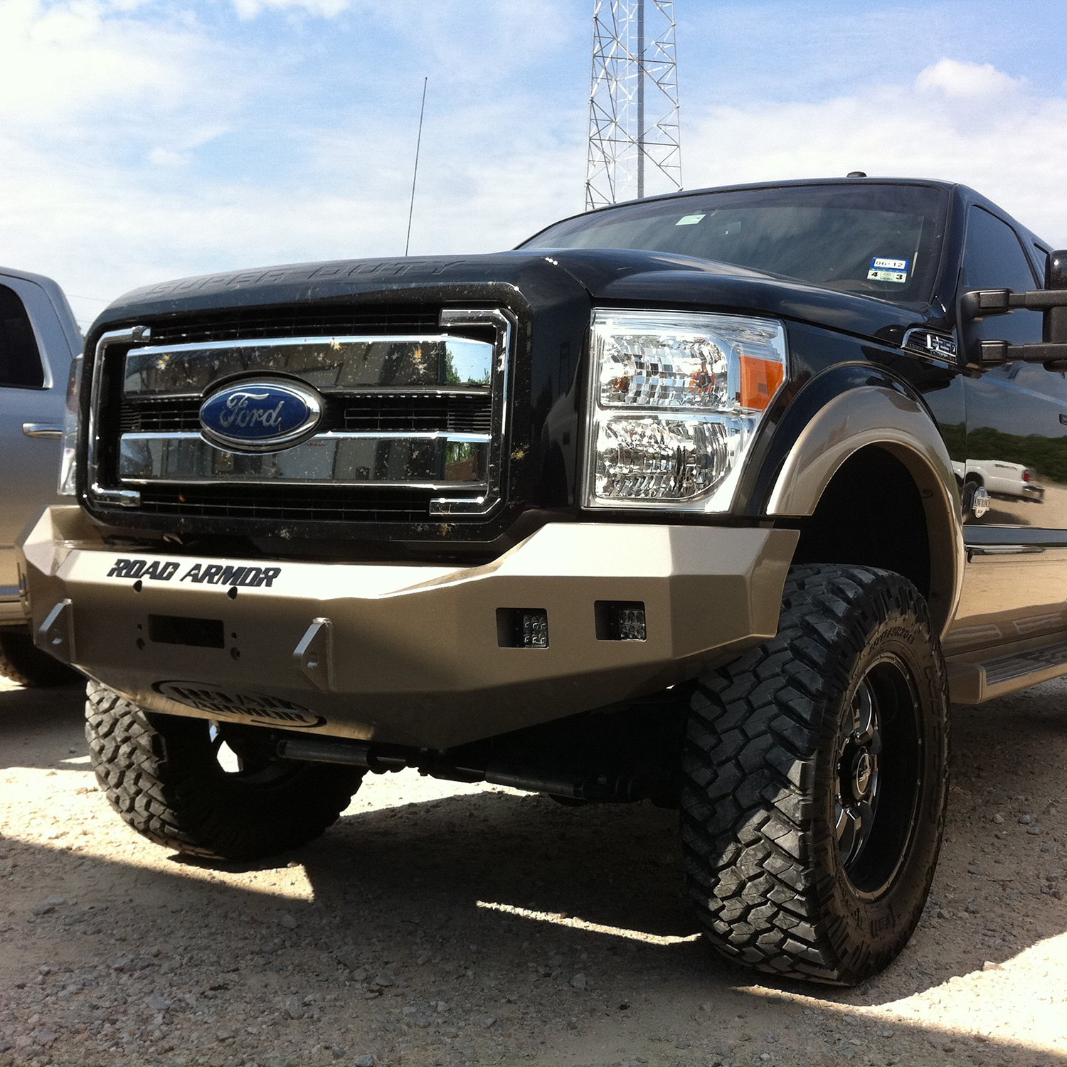 Ford Tractor 800 Series Front Bumper : Road armor ford f stealth series full
