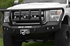 ROAD ARMOR® - Heavy Duty Front Bumper on Ford F-150