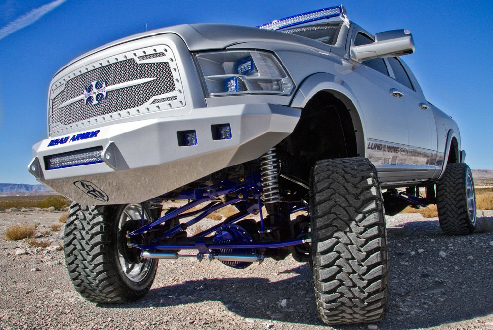 Truck Grill Guards And Bumpers : Road armor™ truck bumpers brush guards carid