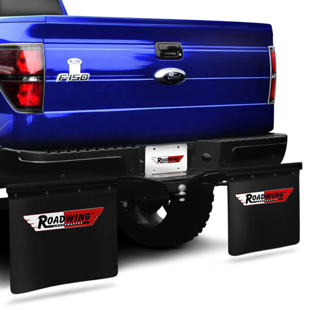 Semi Truck Mud Flaps >> Roadmaster® - Roadwing Removable Mud Flap System for 2 ...