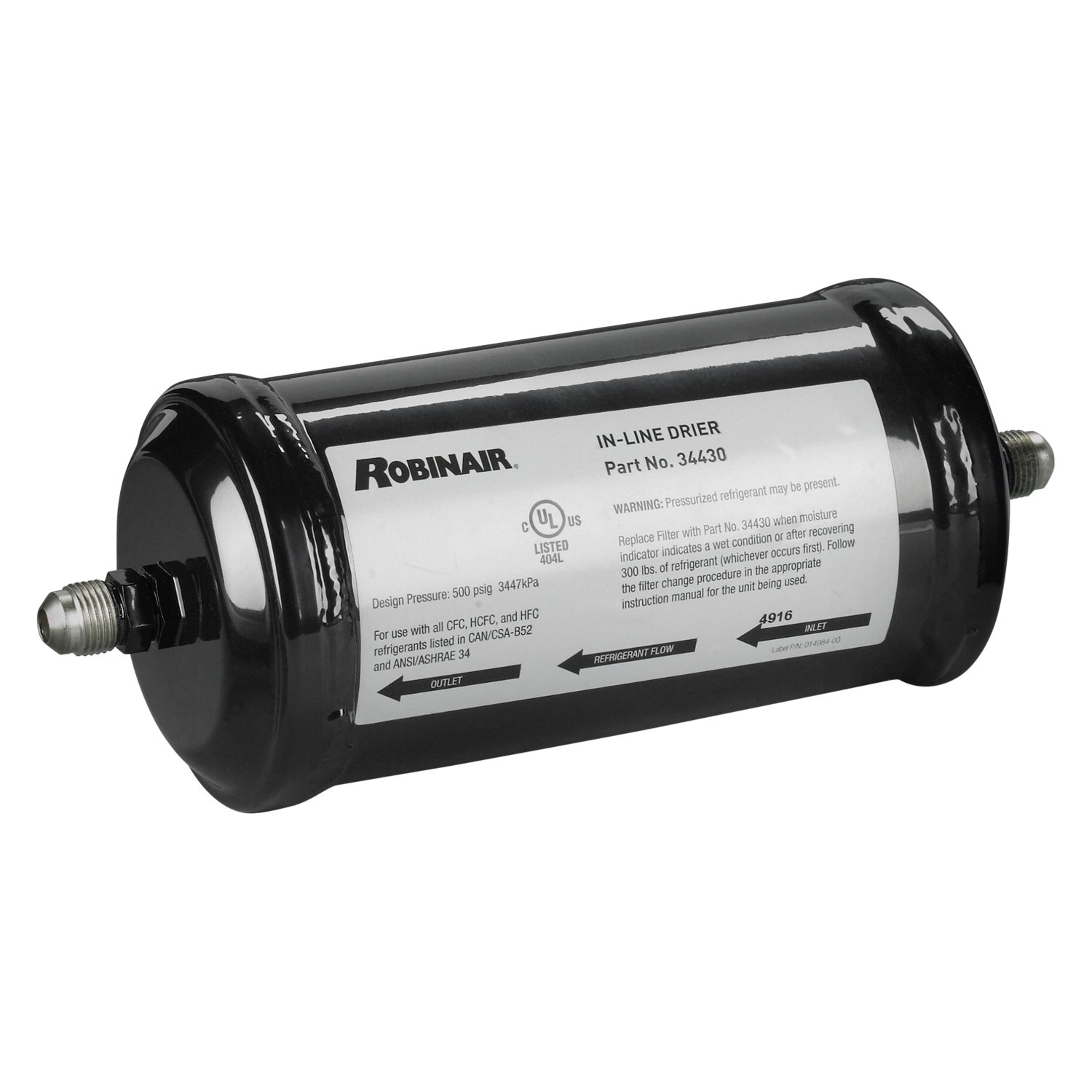 recovery machine filter drier