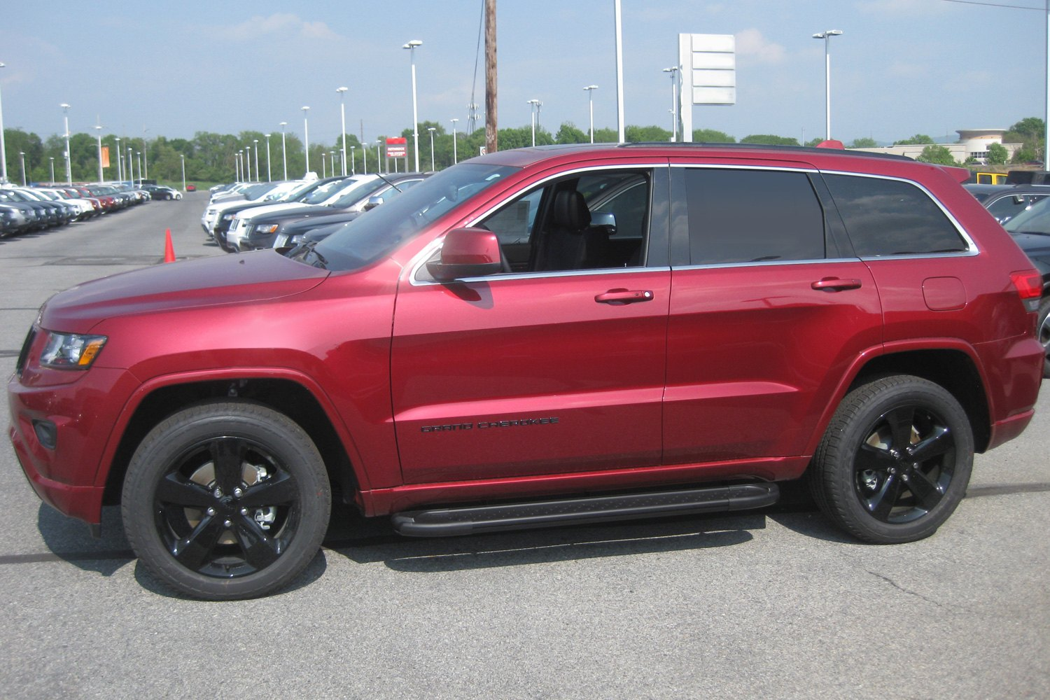 "2019 Jeep Grand Cherokee Overland >> Romik® - Jeep Grand Cherokee 2011 5.5"" RAL Series Wheel-to-Wheel Running Boards"