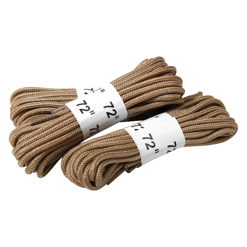 rothco 174 61914 72 quot desert boot laces 3 pack