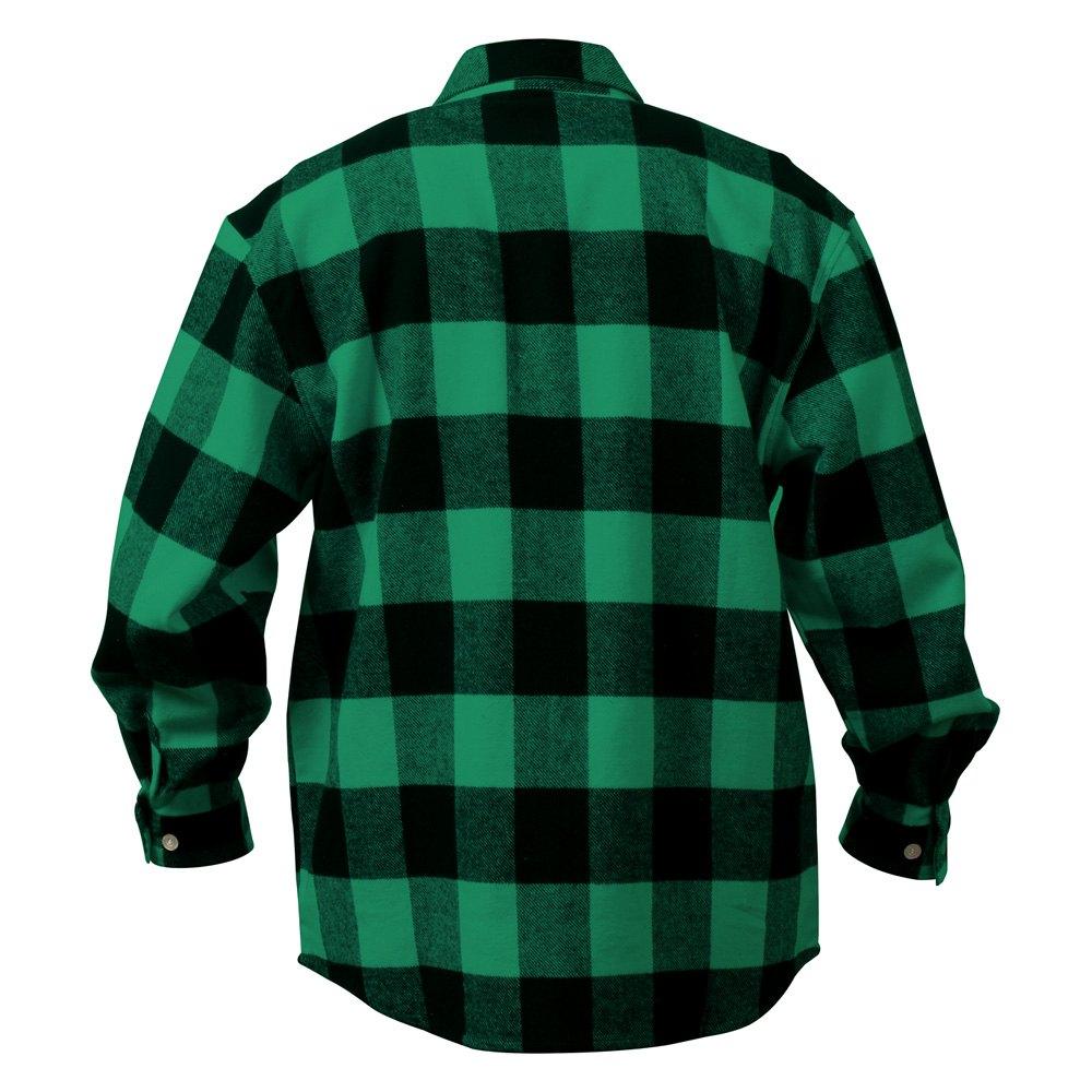 rothco 4740 fg xxl green black extra heavyweight