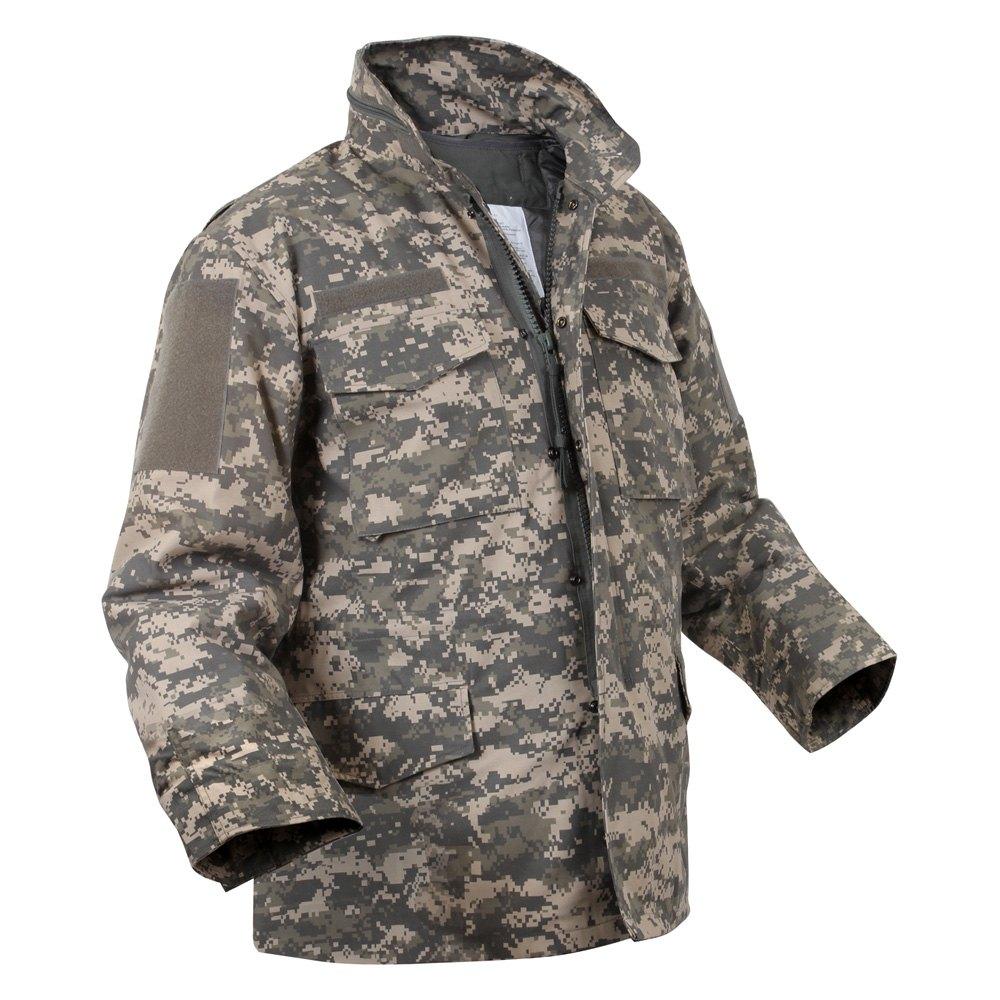 rothco acu digital camo m 65 field jacket. Black Bedroom Furniture Sets. Home Design Ideas